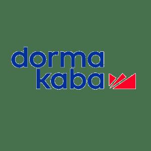 Logo control de accesos Dormakaba